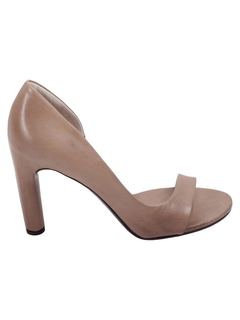 ROBERTO DEL CARLO LEATHER HEELED SHOES
