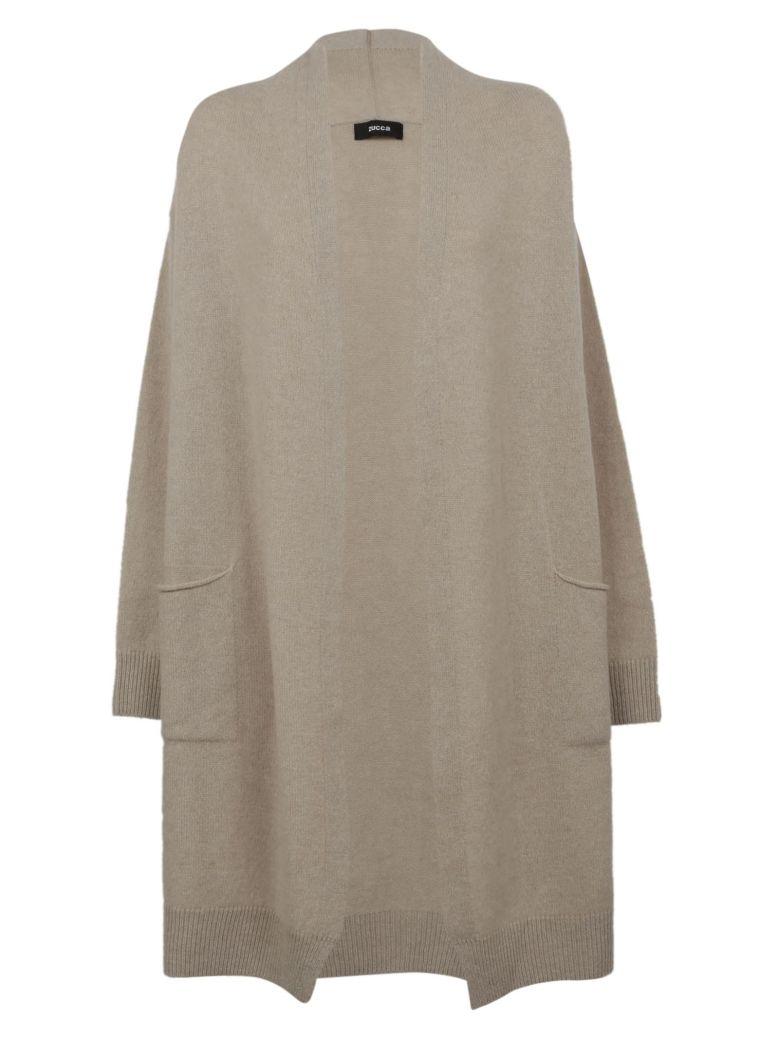 ZUCCA Knitted Cardi Coat in Hotmeal