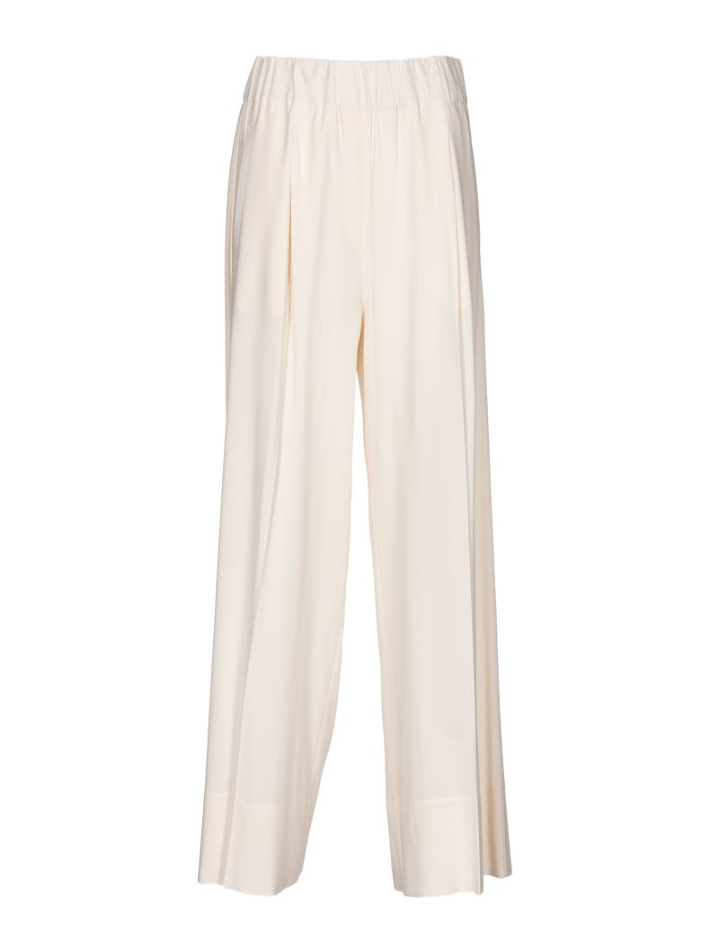 JUCCA WIDE LEG CROPPED TROUSERS