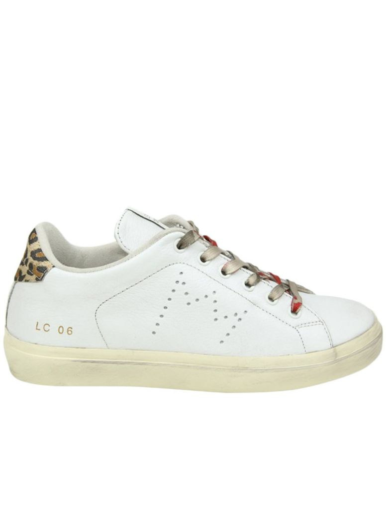 Leather Crown SNEAKERS SHOES WOMEN LEATHER CROWN