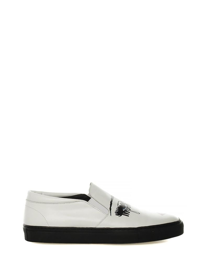 MOSCHINO SLIP-ON SNEAKERS