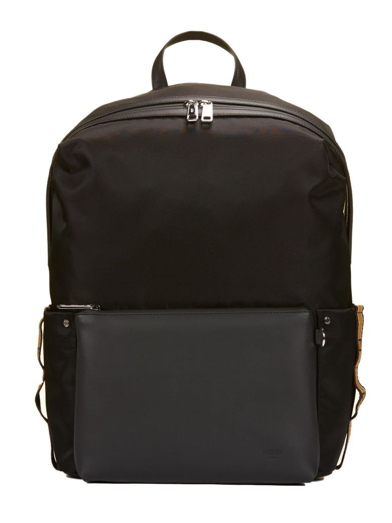 fendi logo printed bag bugs backpack