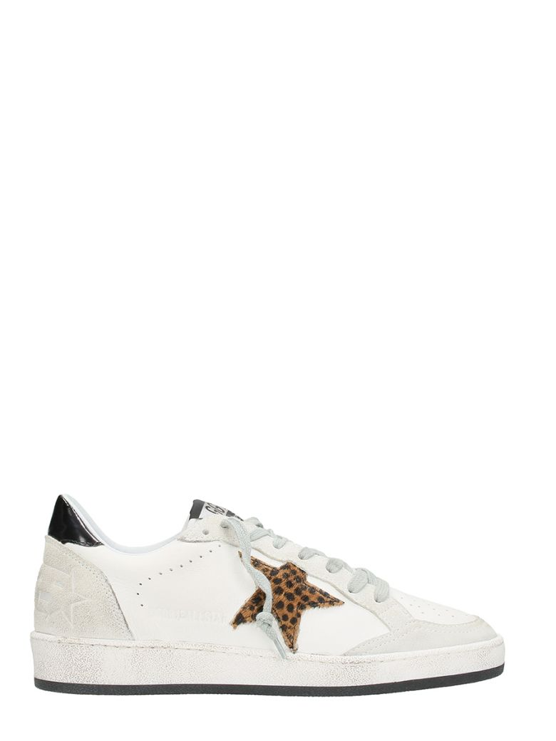 SNEAKERS BALL STAR WHITE LEOPARD STAR