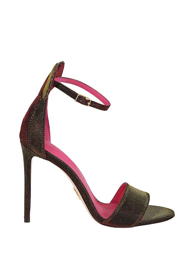 Minnie Sandals, Oro Fuxia