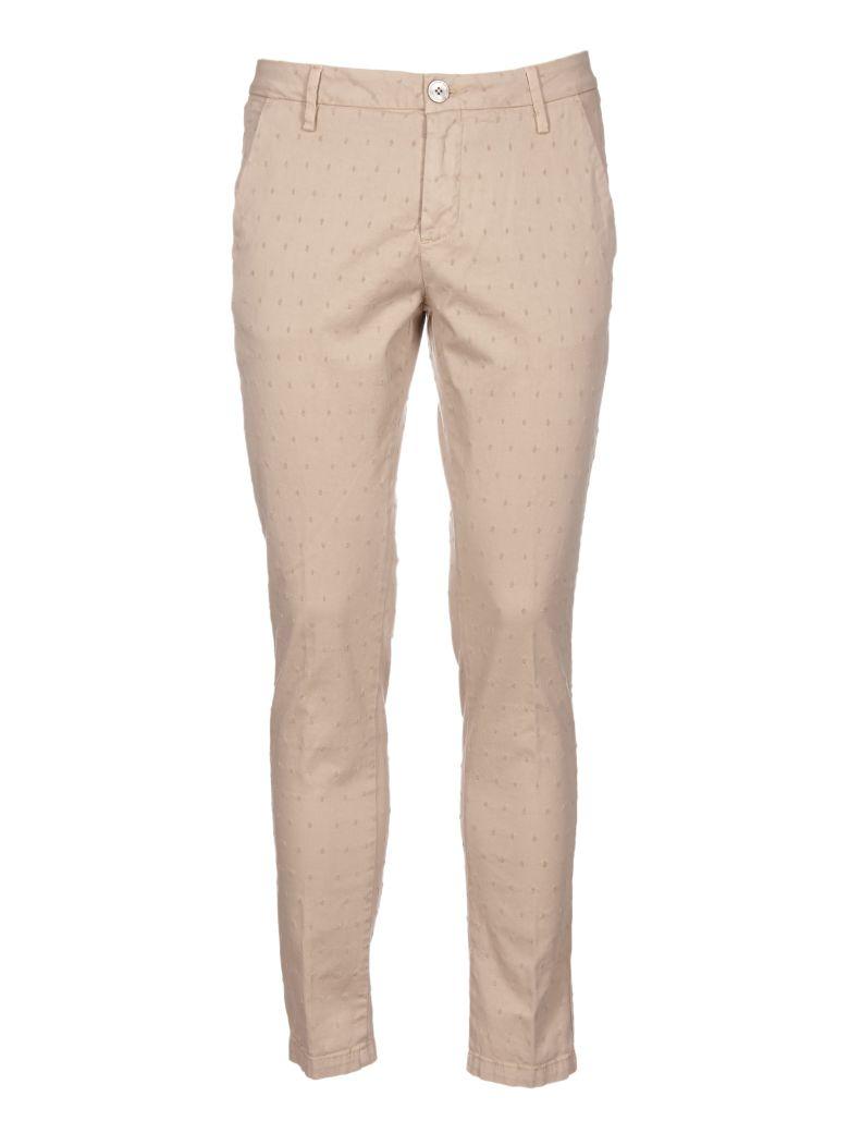AGLINI Pattern Trousers in Beige