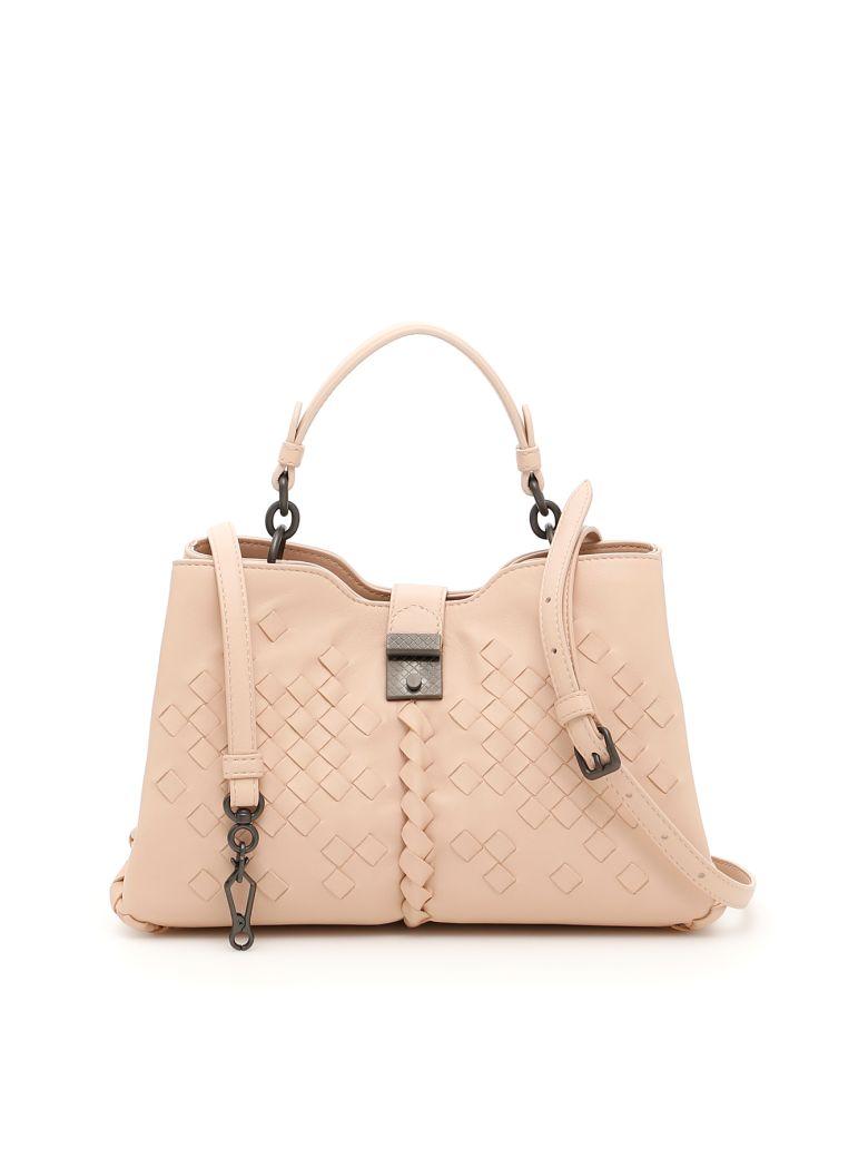 74ac618a2844 Bottega Veneta Small Napoli Bag In Pinkrosa