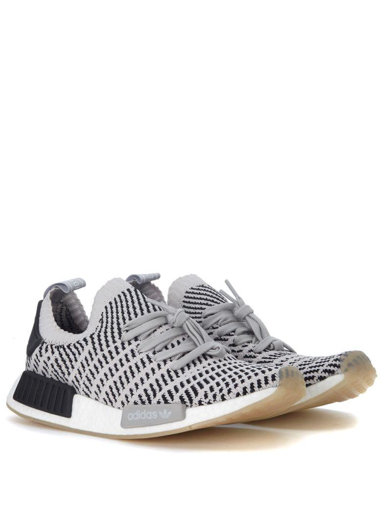 c3a156317f0f1 Adidas Originals Adidas Men S Nmd R1 Stlt Primeknit Originals Running Shoe  In Gray