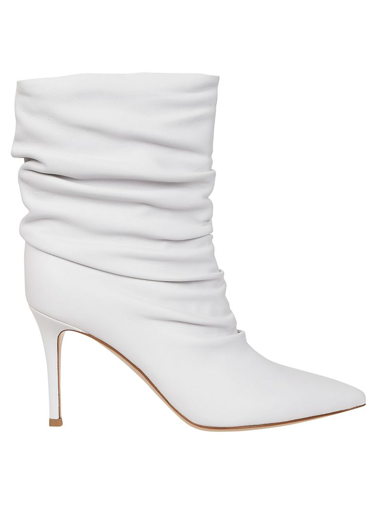 Cecile Boots, Bianco