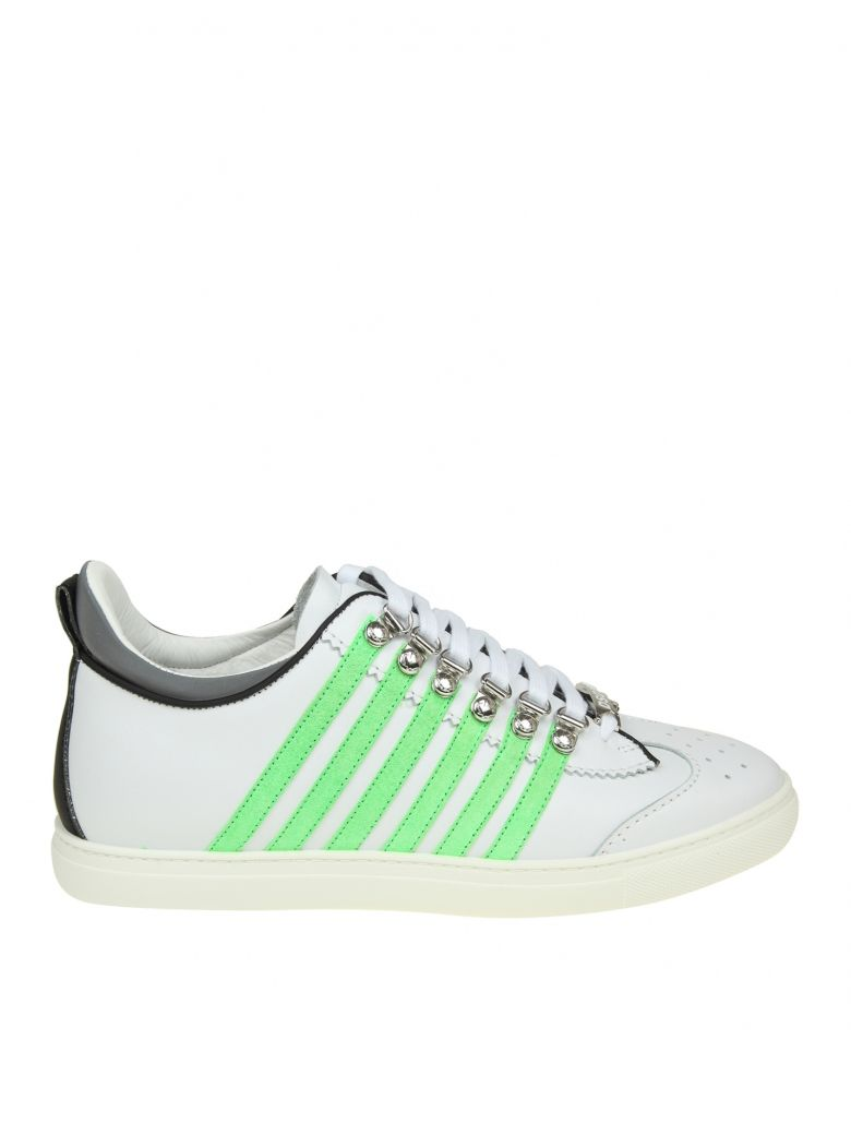 SNEAKERS RUNNER 251 IN WHITE LEATHER