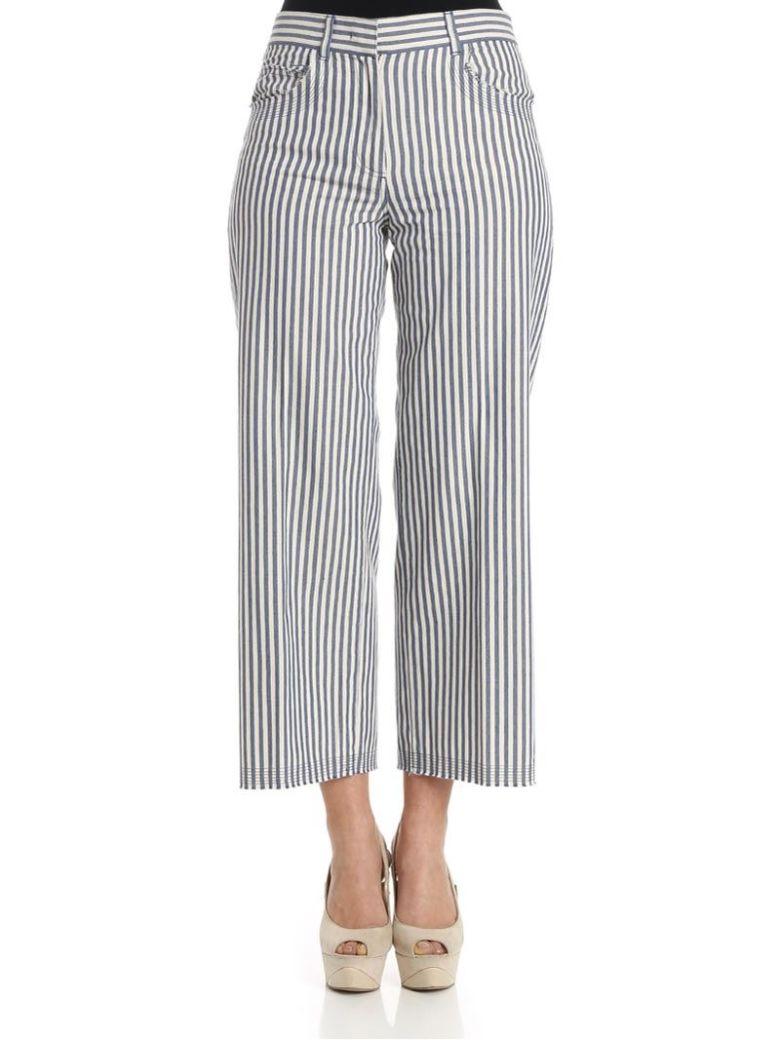 QL2 Ql2 - Mya Trousers in Bluestripes