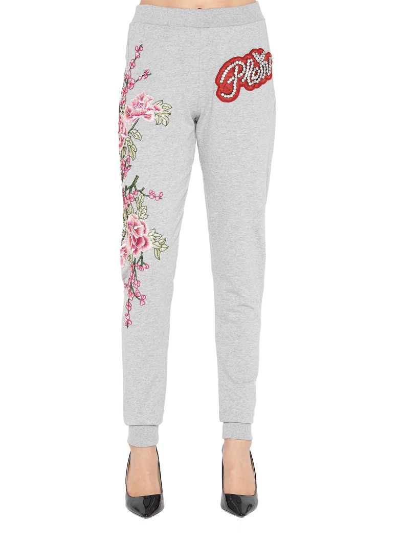 Embroidered sweatpants with crystals Philipp Plein AwgICBcx