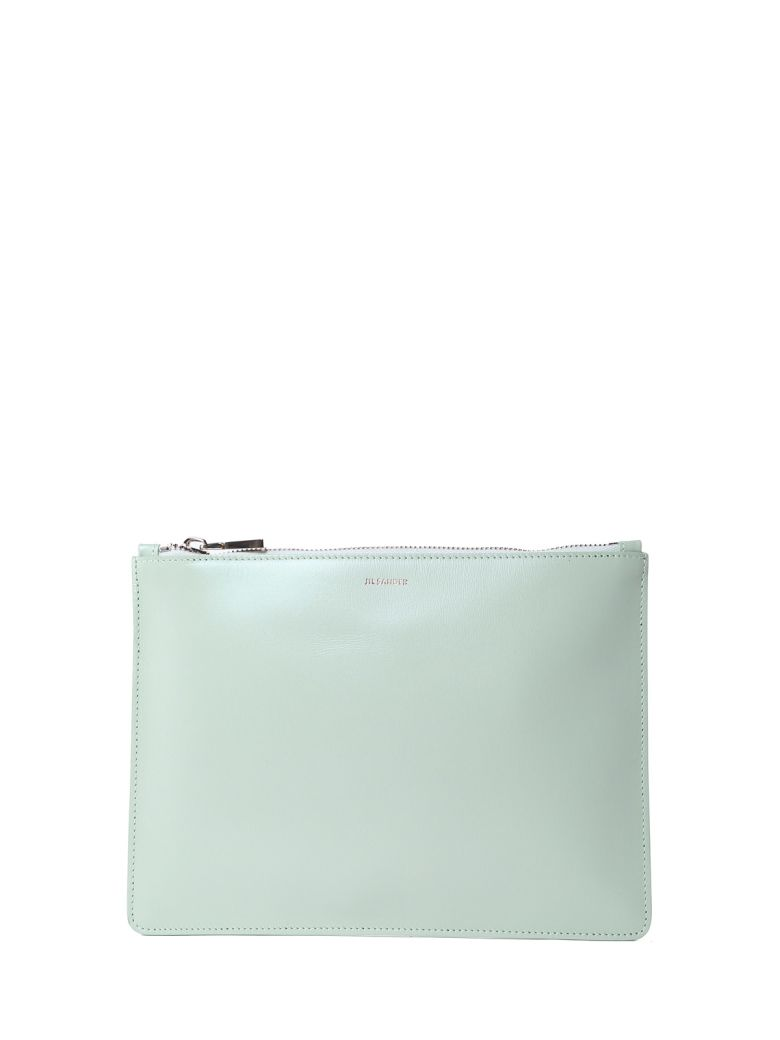 ENVELOPE MD SMOOTH-LEATHER CLUTCH