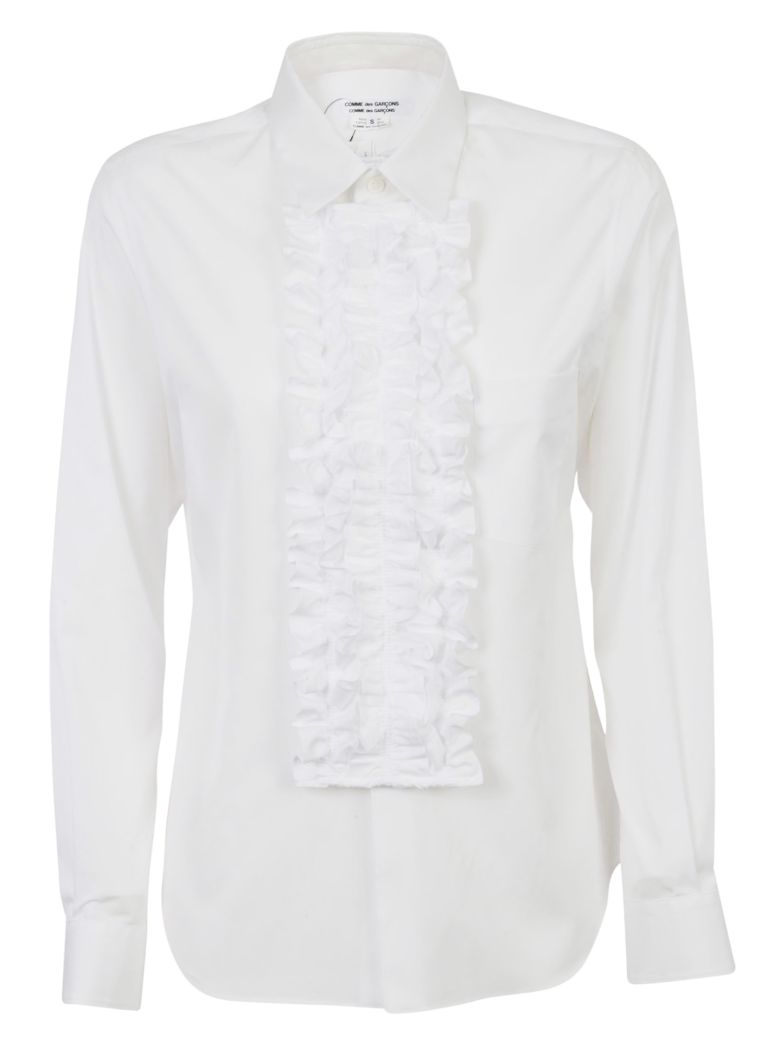 S RUFFLED SHIRT