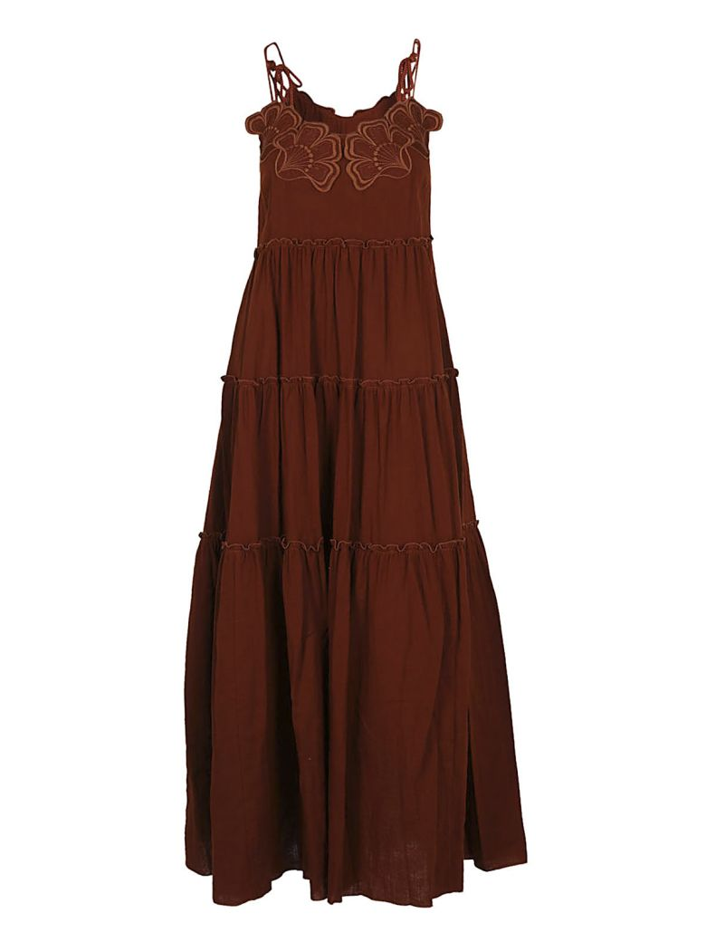 See By Chloé  SEE BY CHLOÉ PLEATED DRESS