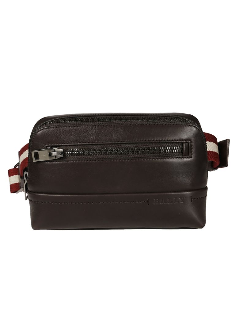 BALLY FRONT ZIP WAIST BAG