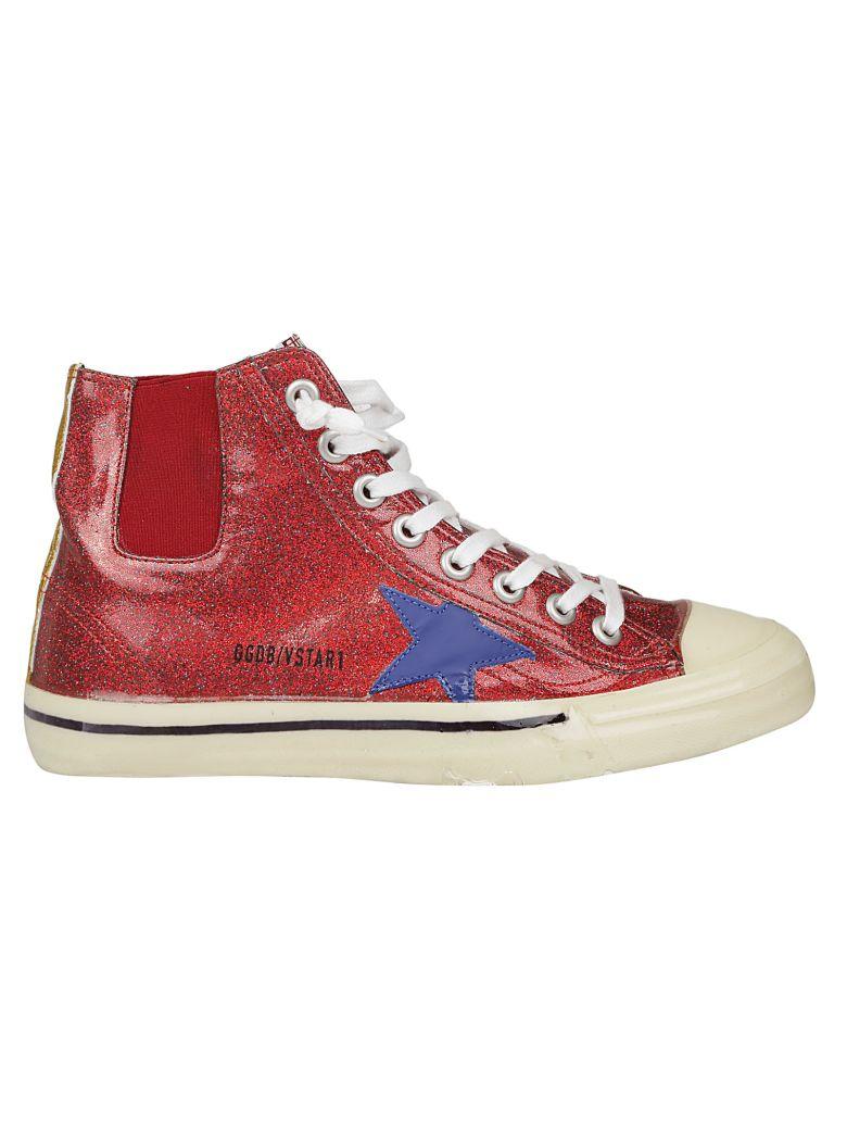 Golden Goose V Star1 Sneakers - Red/bluette