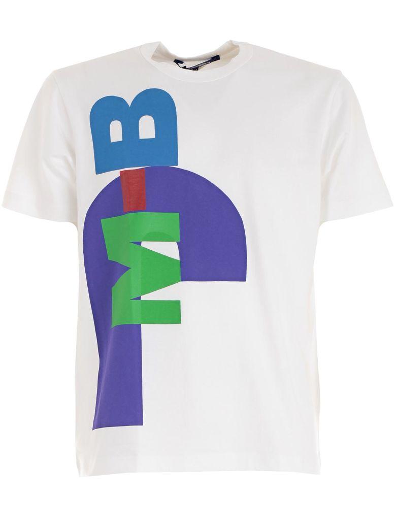 JUNYA WATANABE White Printed T-Shirt, White Print B
