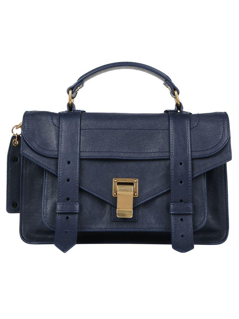Proenza Schouler Ps1 Tiny Handbag In Midnight   ModeSens 6d2b73346d