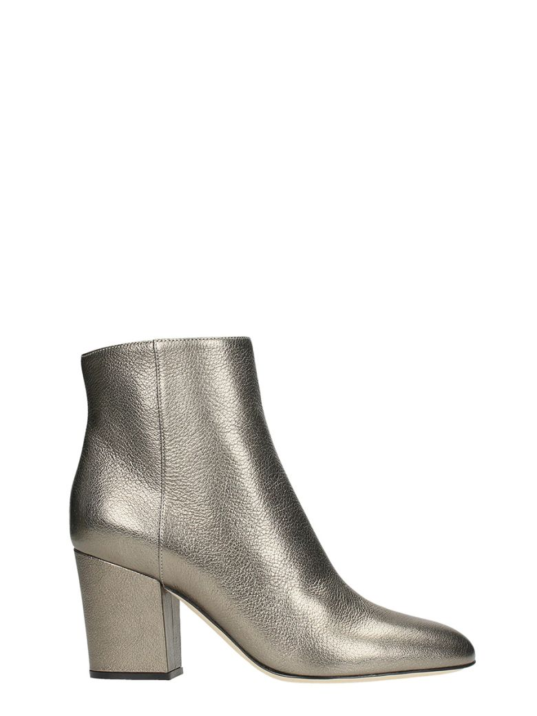 METAL GUN ANKLE BOOTS
