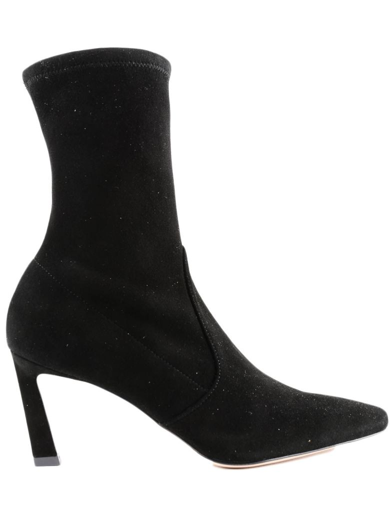 CLING ANKLE BOOTS