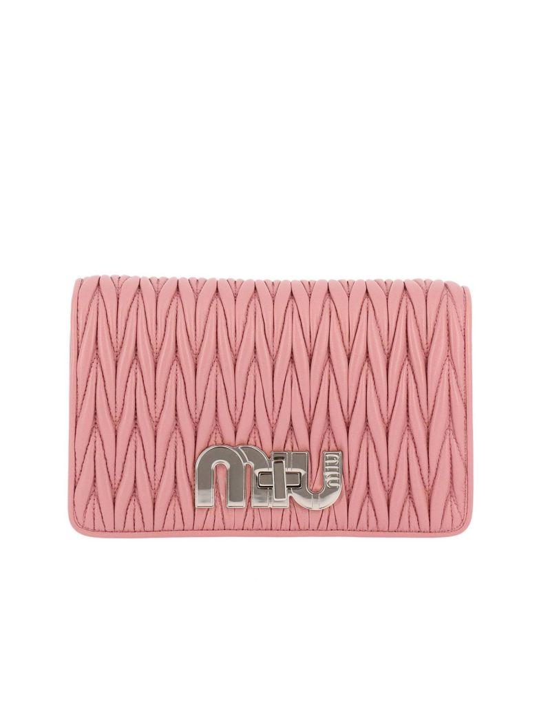 Pink Matelasse Bag
