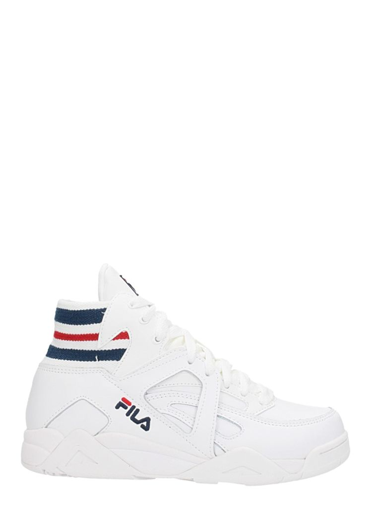 SNEAKERS CAGE GORE TC MD IN WHITE LEATHER