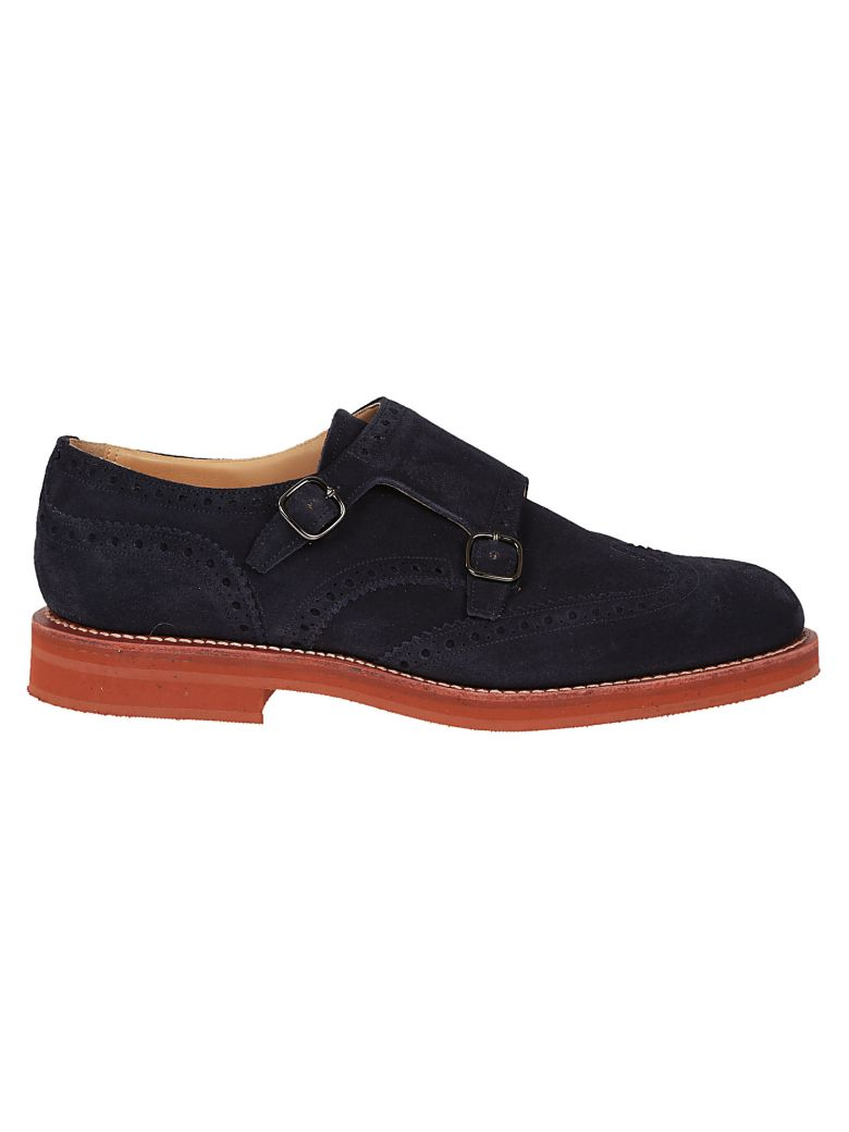 CHURCH'S KELBY PERFORATED MONK SHOES