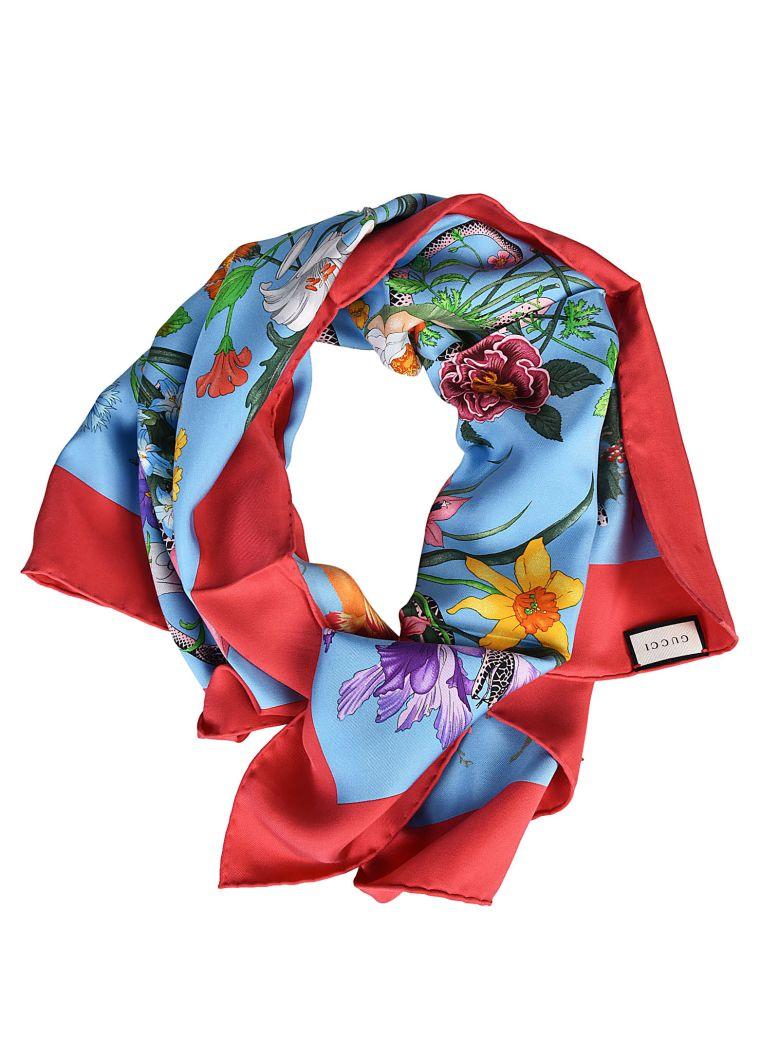 floral scarf - Multicolour Gucci TNDXmSOcTv