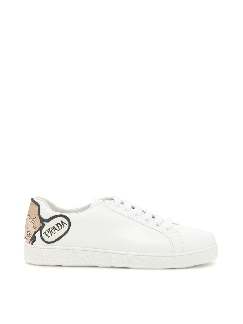 SNEAKERS WITH LOGO PATCH