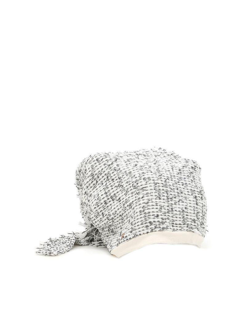 FLAPPER Atena Hat in White Net