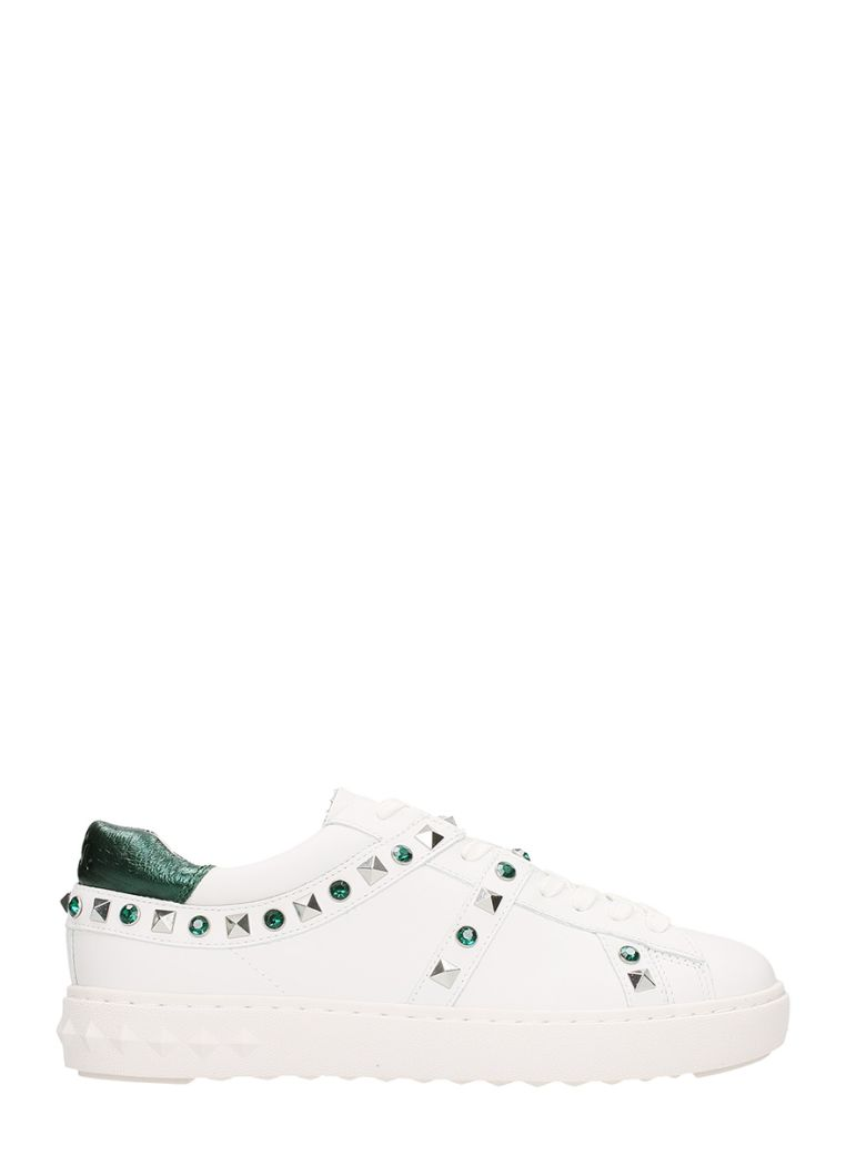 PLAY WHITE SNEAKERS