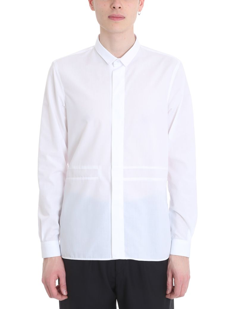 SARTORIAL MONK WHITE COTTON SHIRT