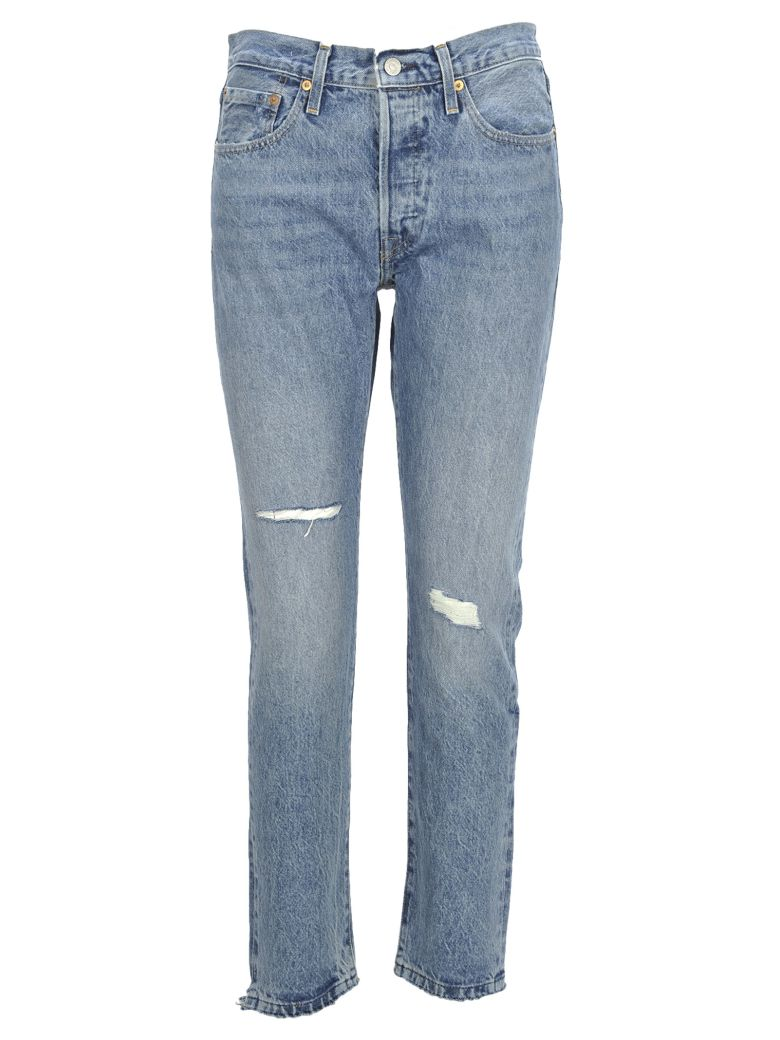 Levi 39 s levis made crafted 501 skinny light blue for Levi s made and crafted