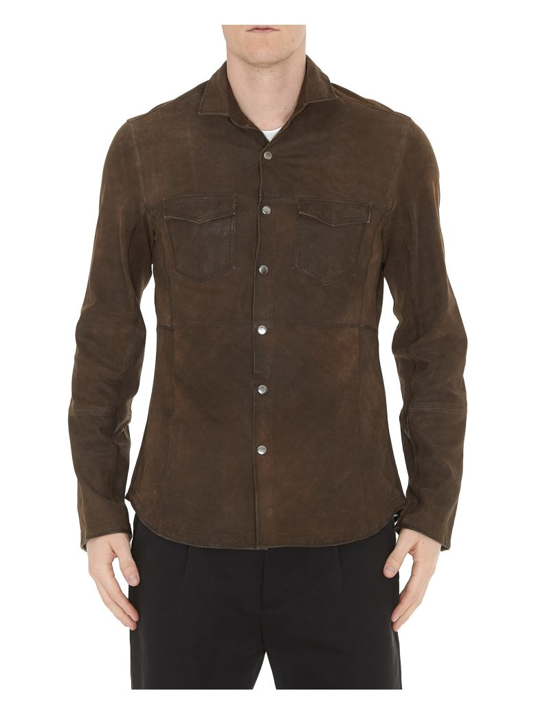 BULLY LEATHER SHIRT