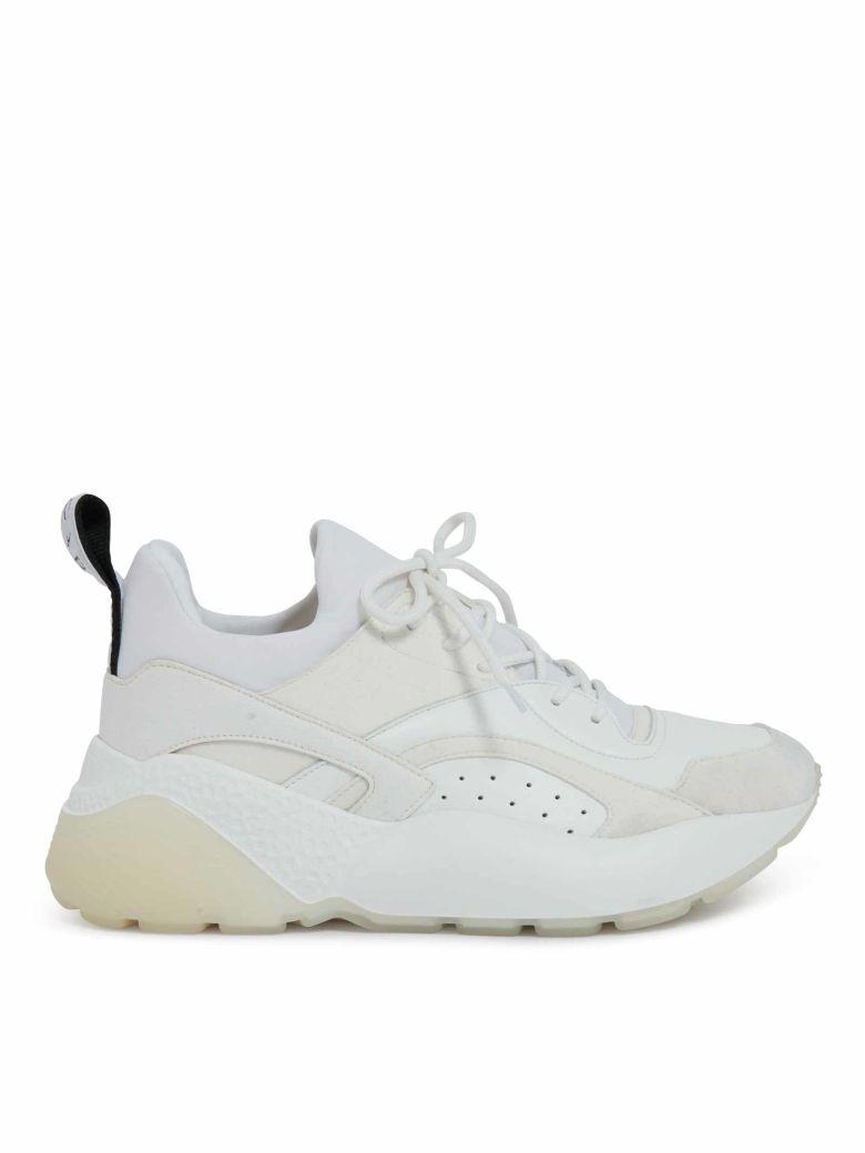 "All-White ""Eclypse"" Sneakers"