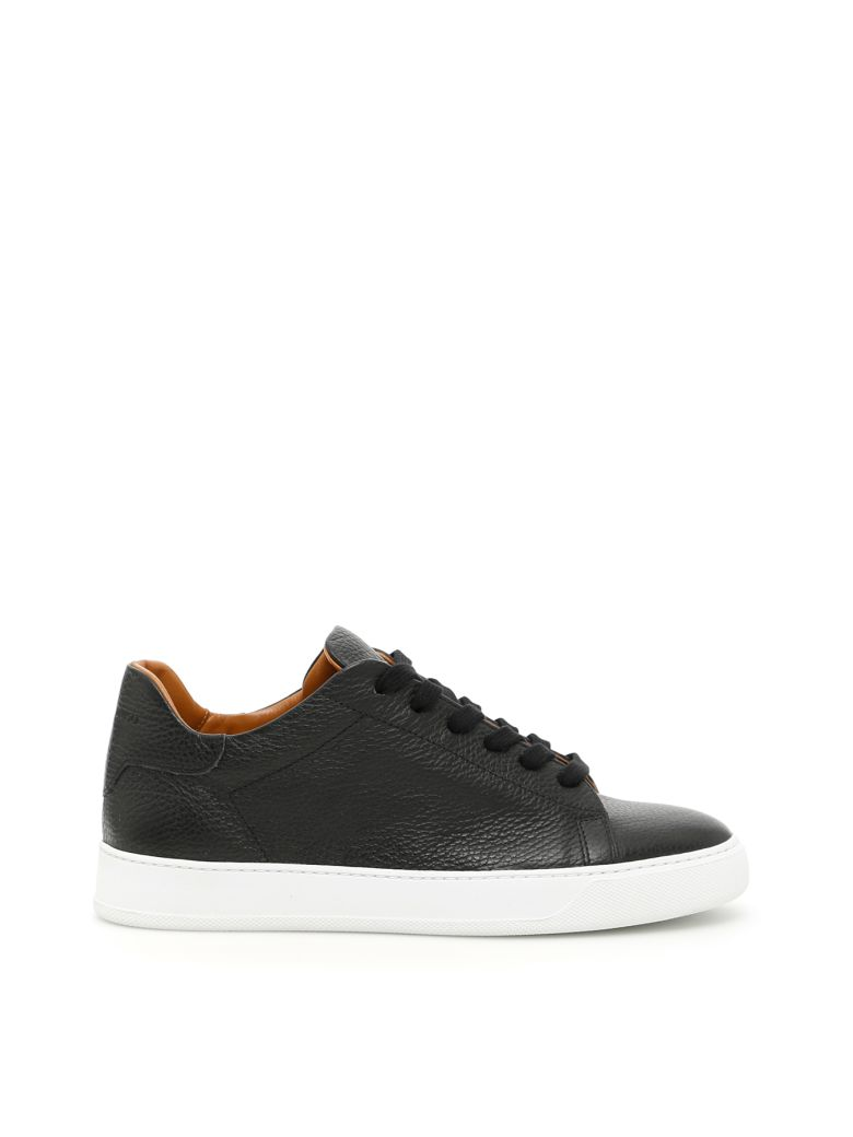 BLACK DIONISO Deer Print Sneakers in Black