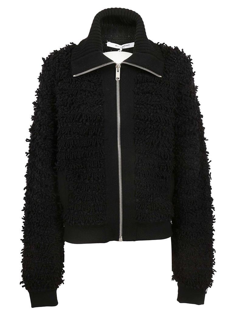 Givenchy Fringed Sweater - Black