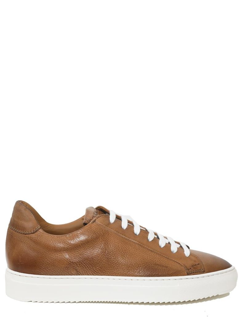 DOUCALS - LEATHER SNEAKERS