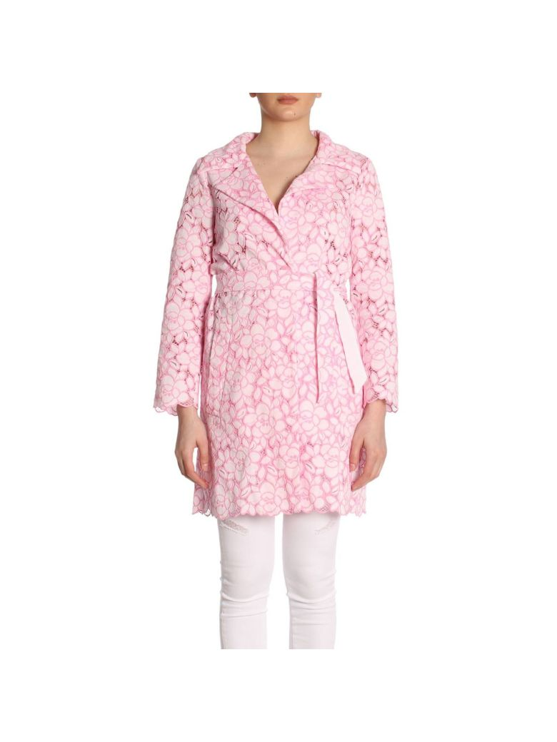 Lace Overcoat, Pink