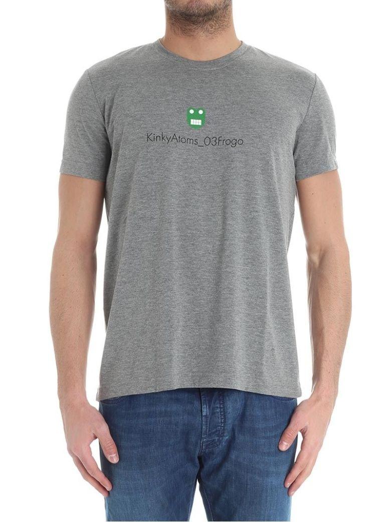 ASPESI T-Shirt Cotton in Grey