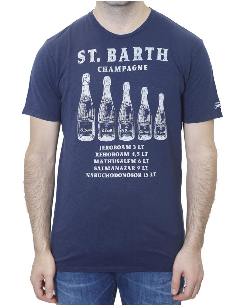 MC2 SAINT BARTH - PRINTED T-SHIRT