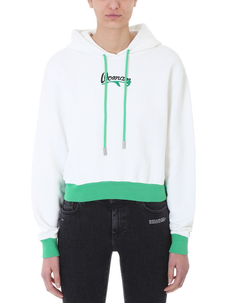 Off-White  WOMAN EMBROIDERED HOODIE
