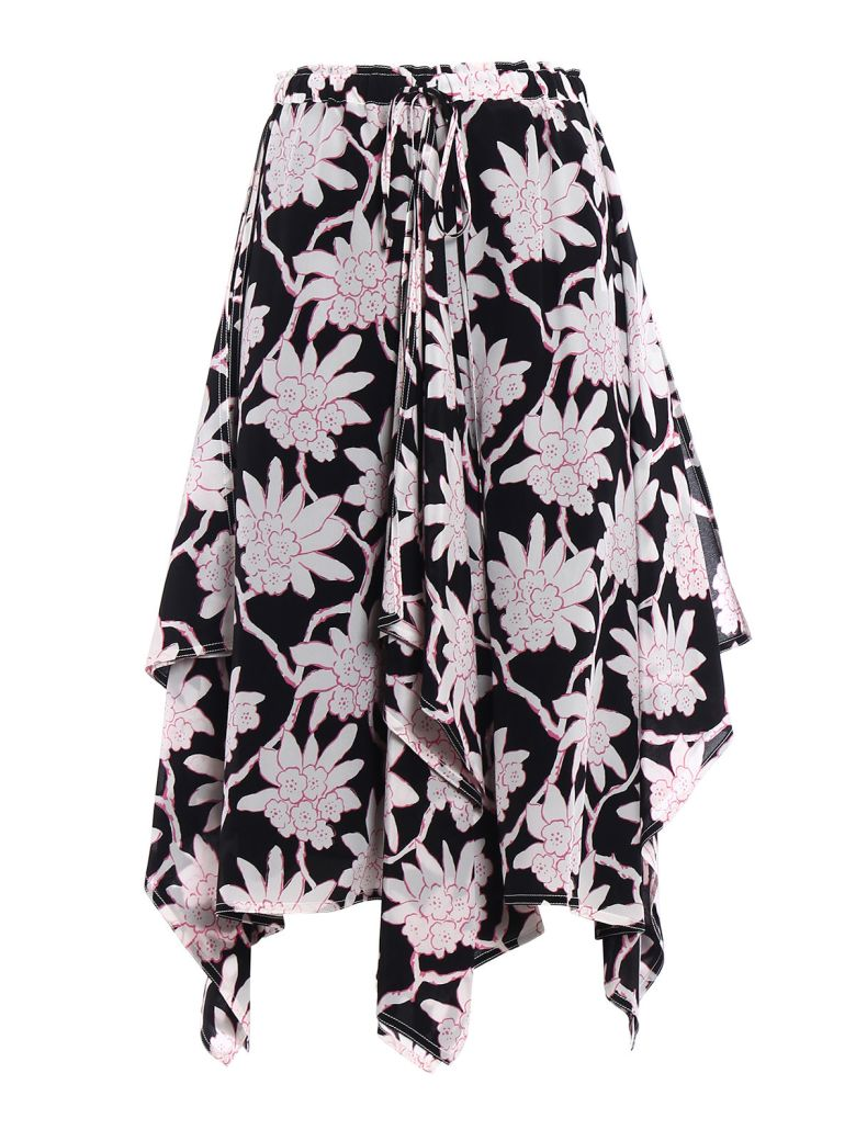 Valentino  FLORAL LONG SKIRT
