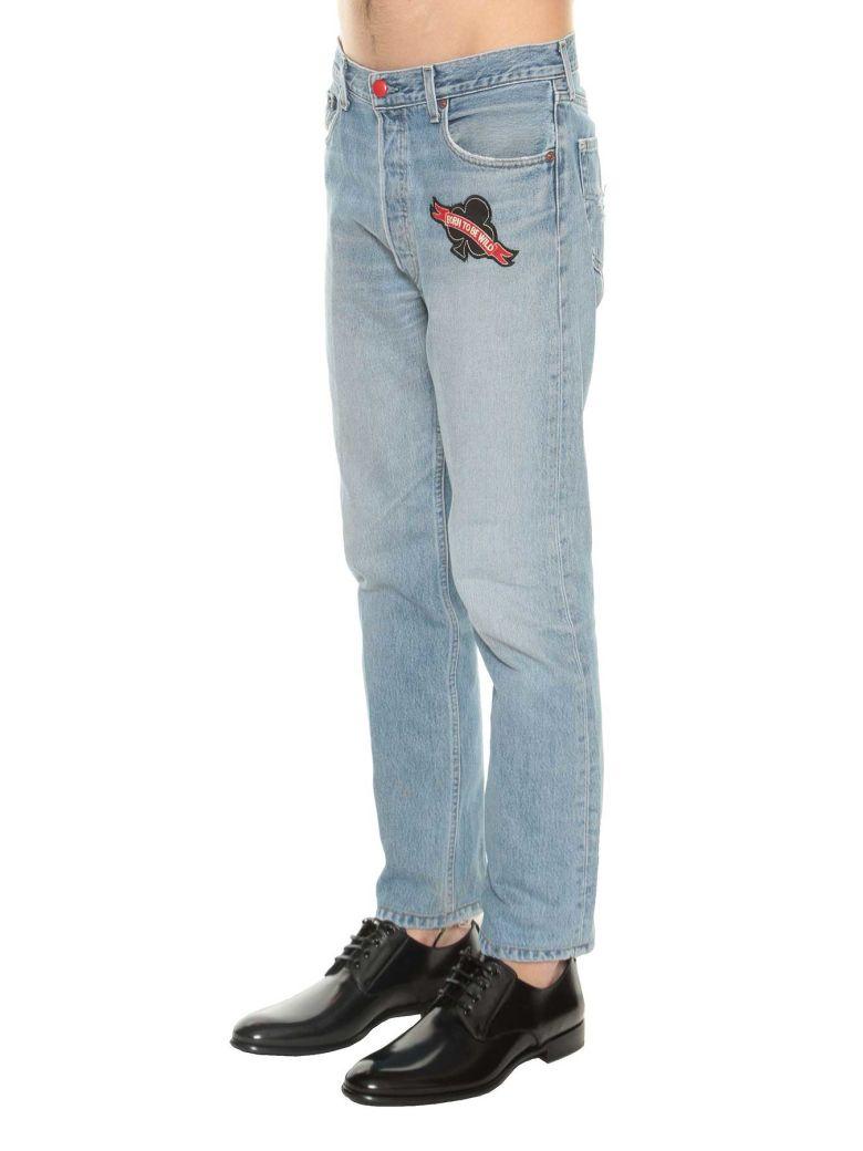 Levis Jeans Patches Vintage - L'histoire Se Répète Bleu Qfs0X9r