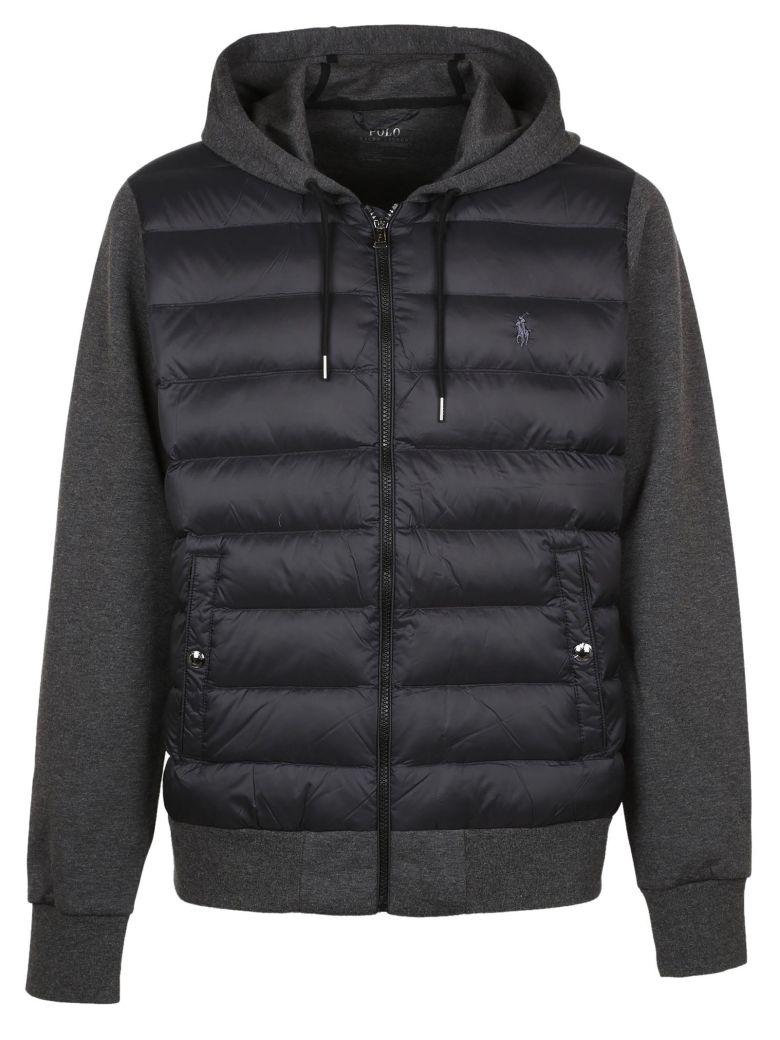 Polo Ralph Lauren Hooded Padded Bomber Jacket Black Modesens