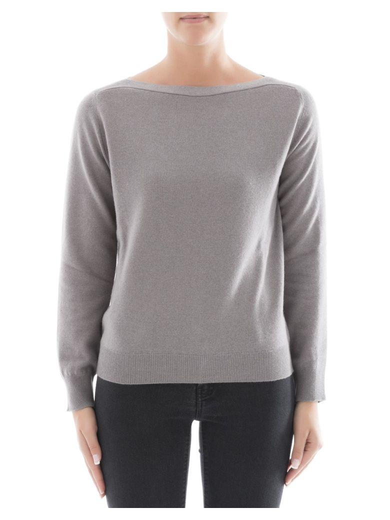 GREY WOOL SWEATSHIRT
