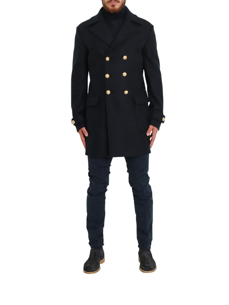 BRIAN DALES GOLDEN BUTTONS COAT