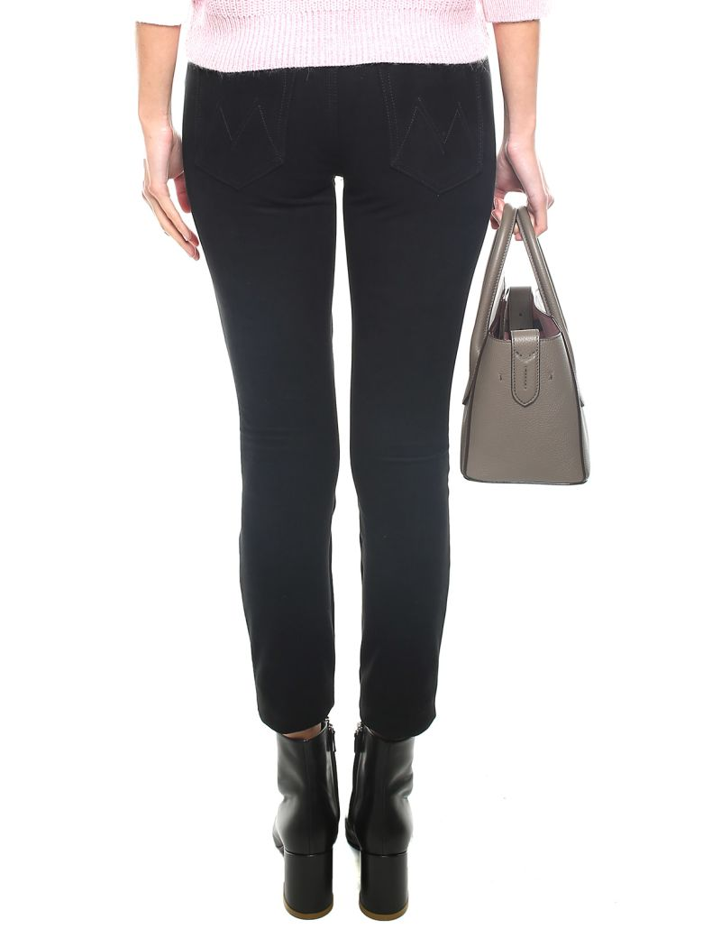 The Looker faux-suede texture jeans Mother Cheap Sale Sneakernews Cheap Pay With Visa edoFf