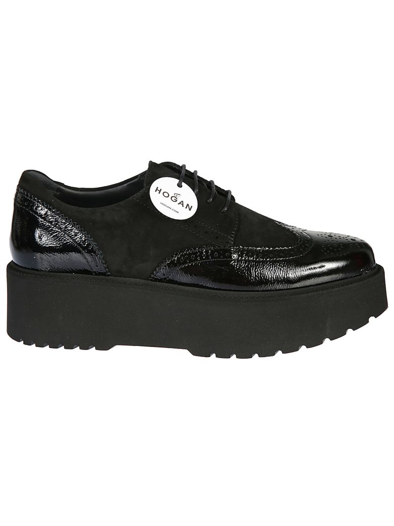 Route Budapest Platform Sneakers in Nero