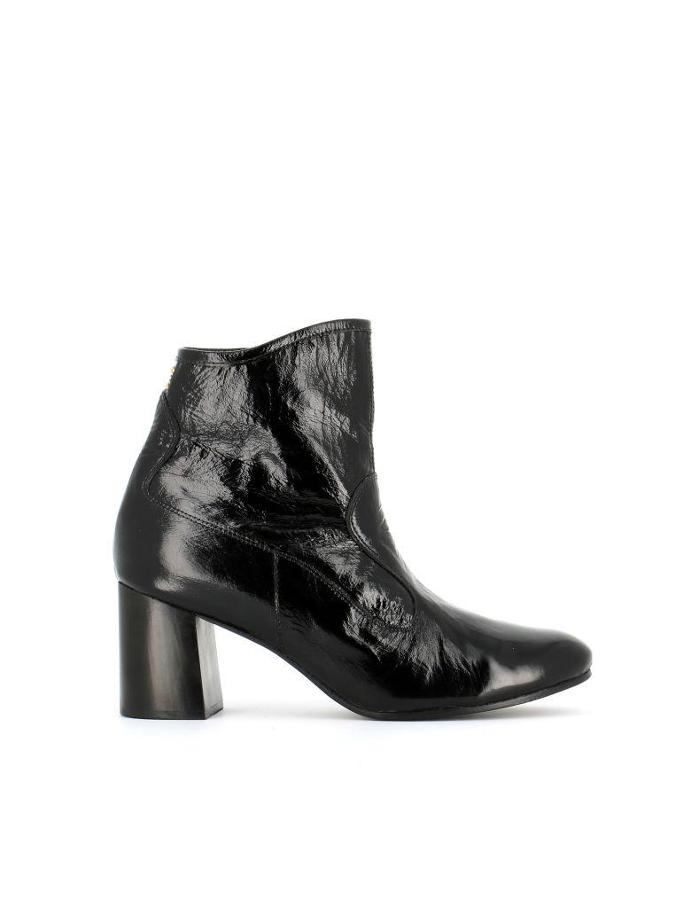 CALLEEN CORDERO Tolosa Heel Ankle Boots in Black